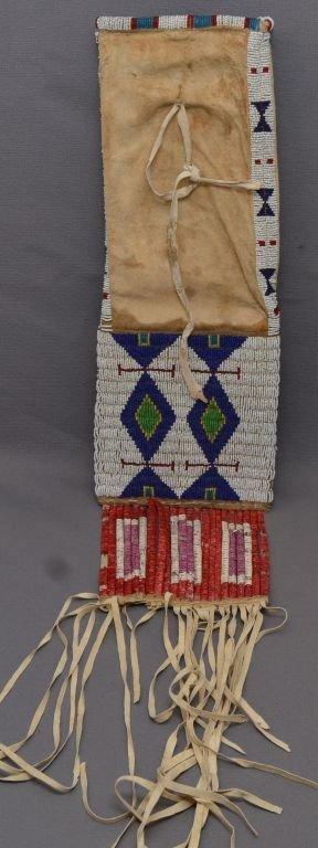 PLAINS INDIAN PIPE BAG