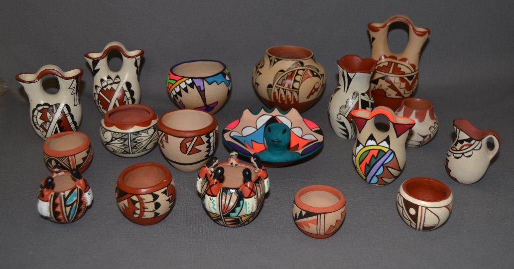 COLLECTION OF JEMEZ POTTERY