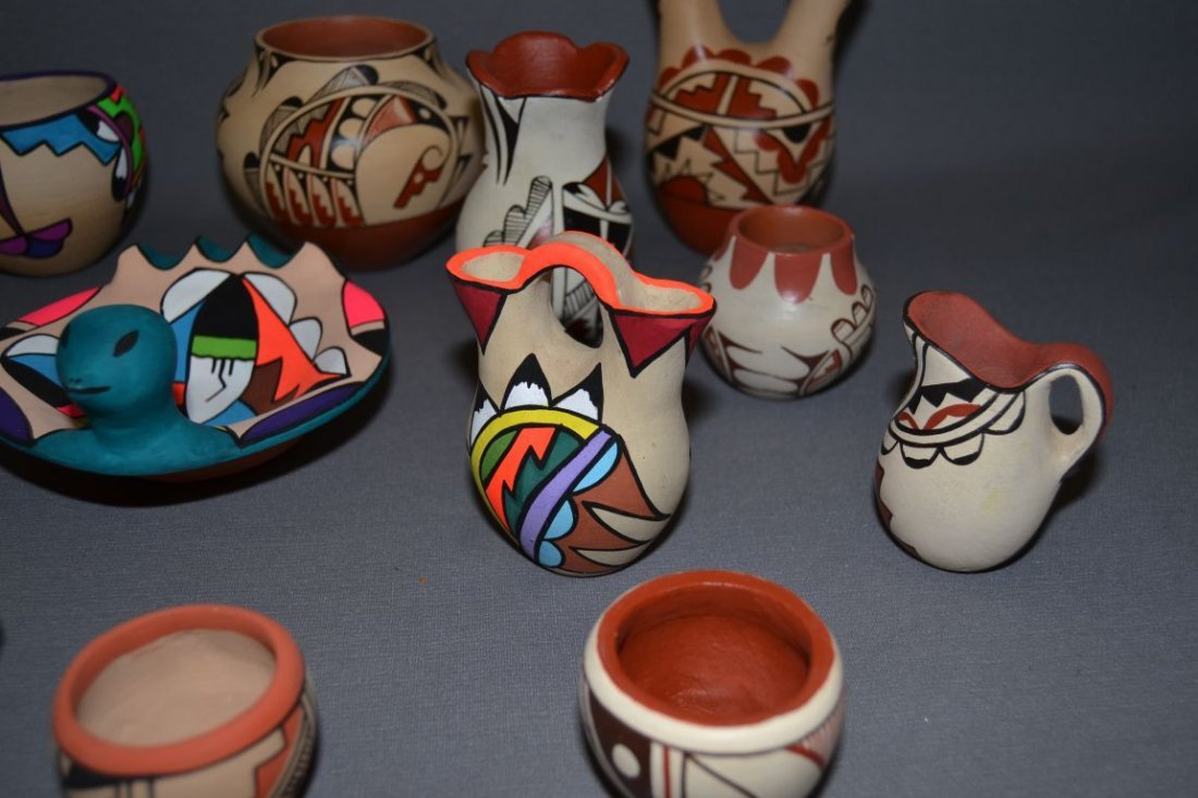 COLLECTION OF JEMEZ POTTERY - 2
