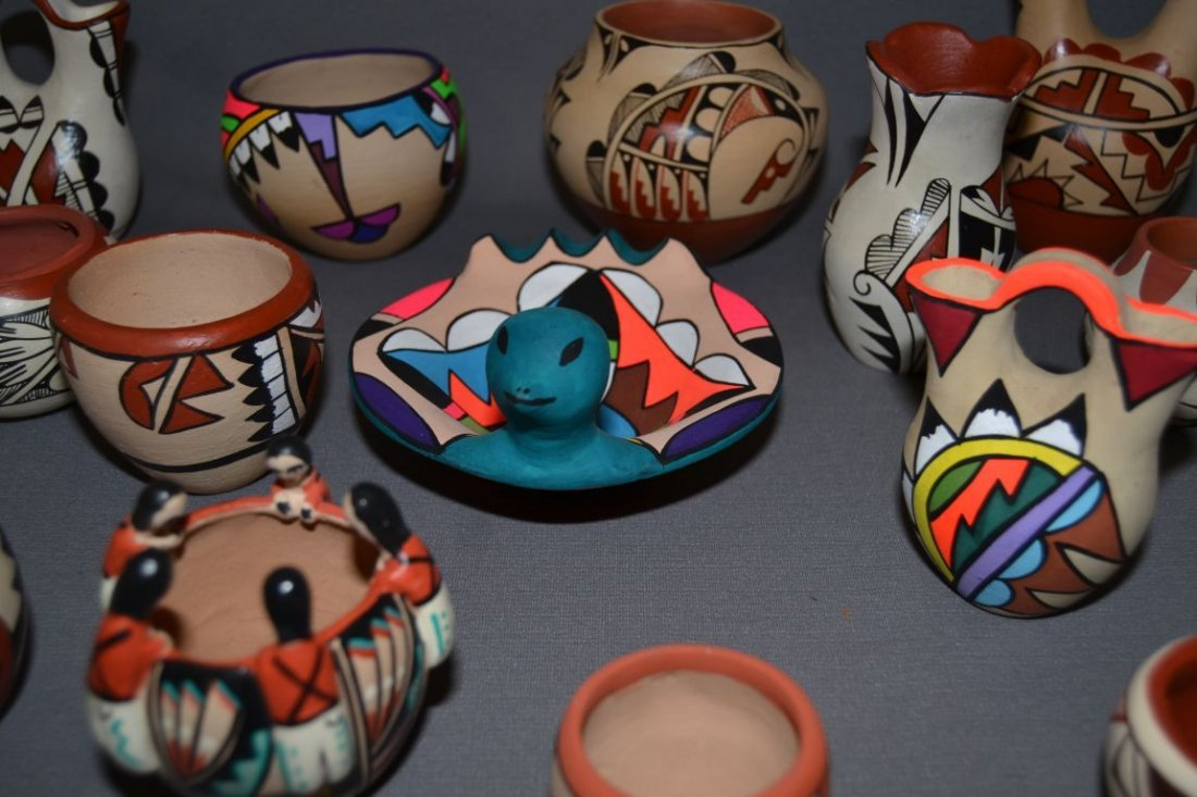 COLLECTION OF JEMEZ POTTERY - 3