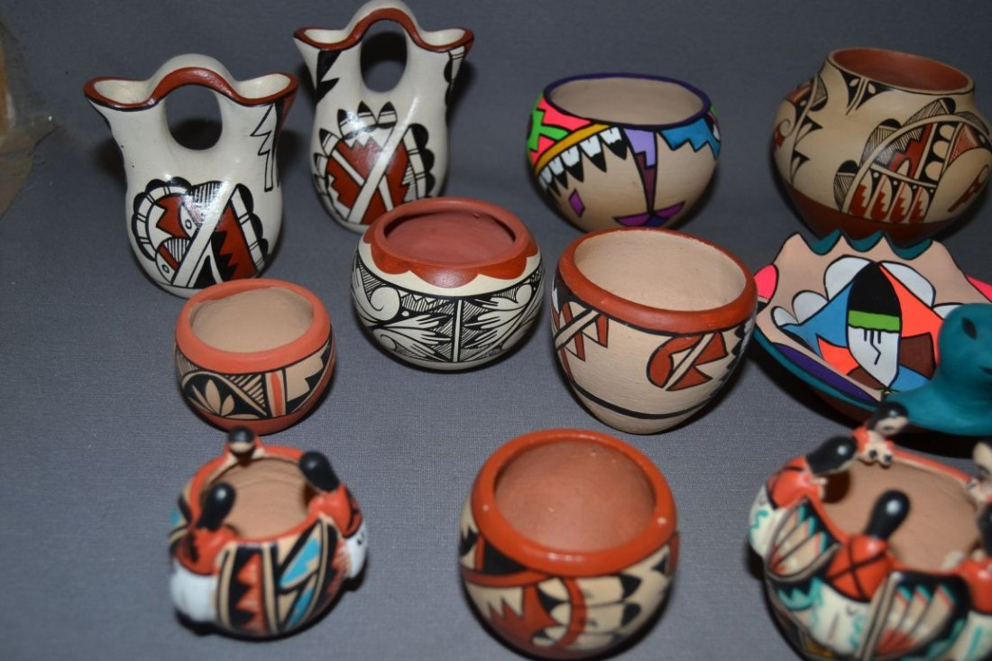 COLLECTION OF JEMEZ POTTERY - 5