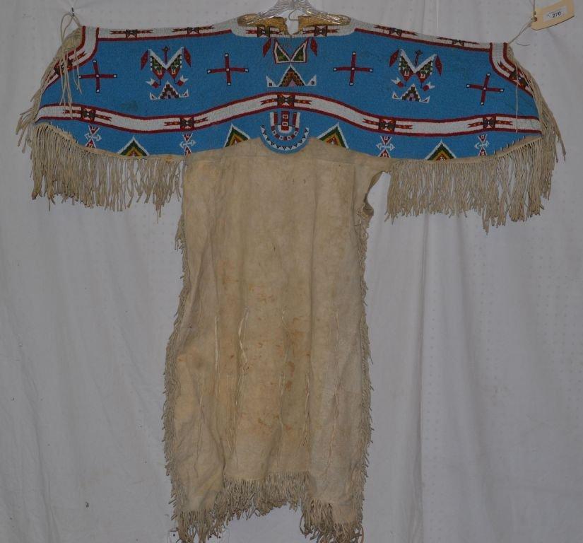 SIOUX BEADED DRESS