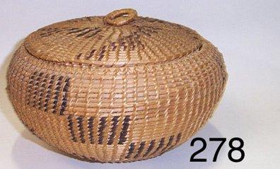 278: WASHO BASKET