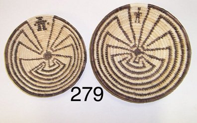 279: TWO PAPAGO BASKETS