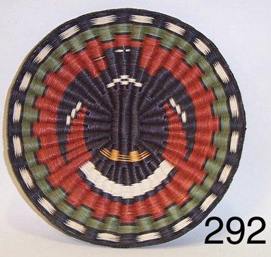 292: HOPI BASKETRY PLAQUE
