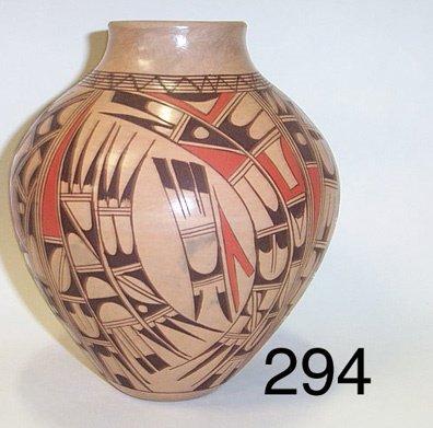 294: HOPI POTTERY JAR
