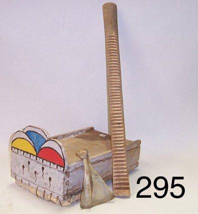 295: HOPI RESONATOR AND RASP