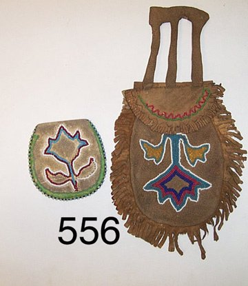 556: TWO PLAINS BAGS