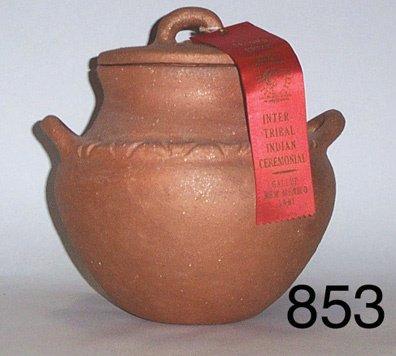 853: PICURIS POTTERY JAR
