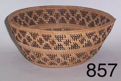 857: TULARE BASKETRY BOWL