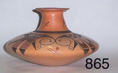 865: HOPI POTTERY JAR
