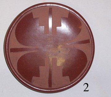 2: SAN ILDEFONSO POTTERY PLATE