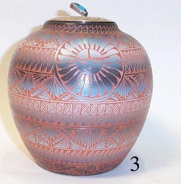 3: NAVAJO POTTERY JAR