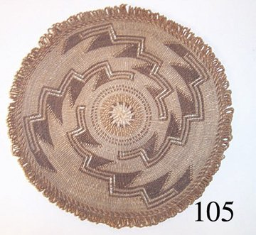 105: KLAMATH BASKETRY TRAY