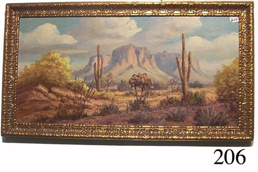 206: WESTERN PAINTING