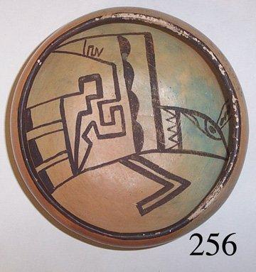 256: HOPI POTTERY BOWL