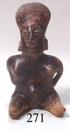 271: PRECOLUMBIAN POTTERY IDOL