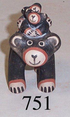 751: COCHITI POTTERY BEAR