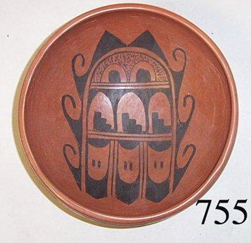 755: HOPI POTTERY BOWL