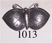 1013: SAN ILDEFONSO BUTTERFLY PIN
