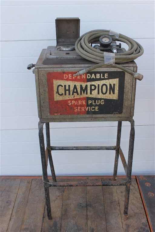 Champion Spark Plug Cleaning Machine 39 5 Quot
