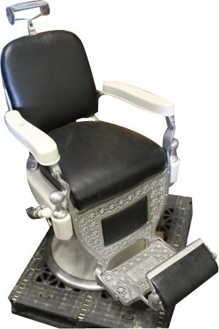 Barber Chair Theo A Kochs Chicago ILL VG