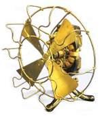 Edison Bi-Polar Electric Fan, C. 1898 Makers Plate: