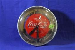 "Drink Coca-Cola Bottles Advertising Clock - 15"" Working"
