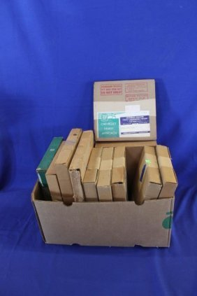 Lot Of 12 Gm Dealer Various Training Phonographs And