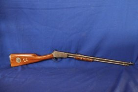 Winchester Model 1906 .22 Pump Action W/1971 Silver