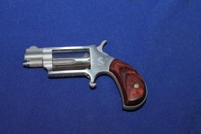 North American Arms .22 Magnum Pocket Pistol W/ Wood