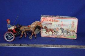 Arabian Key Wind Wind Mechanical Horse & Jockey By Dp