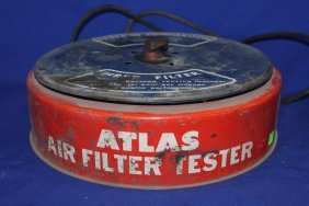 Atlas Air Filter Tester, Vintage
