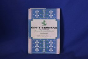 Geo. T Brodnan Diamond Merchants & Goldsmith Catalog