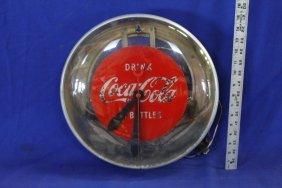 Vintage Drink Coca-cola Bottles Translucent Coke Clock