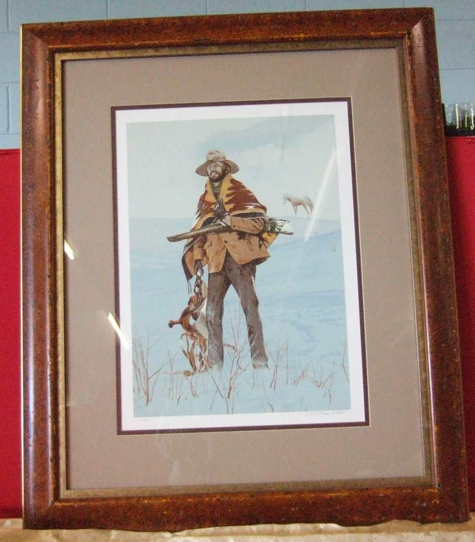 Cowboy Hand Signed and Numbered Limited Edition Print