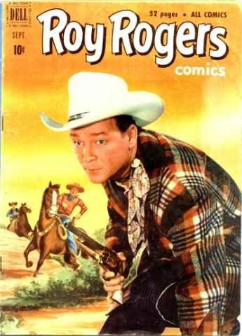 1005: Lot of 3 Roy Rogers Comic Books 1951-1955
