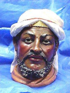 1008: Antique Pottery Figural Tobacco Humidor