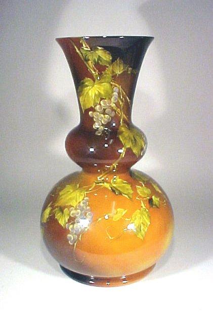 1075: Rookwood Pottery Vase Monumental Shirayamadani
