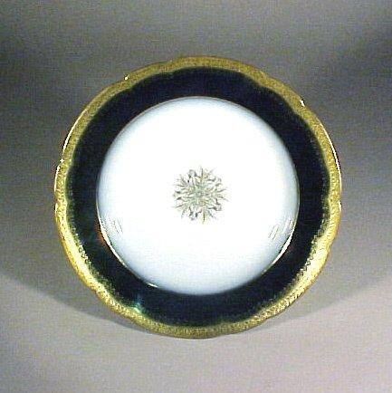 2010: Antique Porcelain Limoges Bowls J Pouyat Gilt - 2