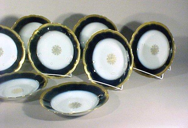 2010: Antique Porcelain Limoges Bowls J Pouyat Gilt - 3