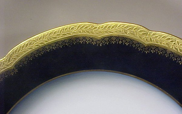 2010: Antique Porcelain Limoges Bowls J Pouyat Gilt - 4