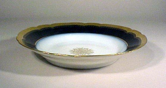 2010: Antique Porcelain Limoges Bowls J Pouyat Gilt - 6
