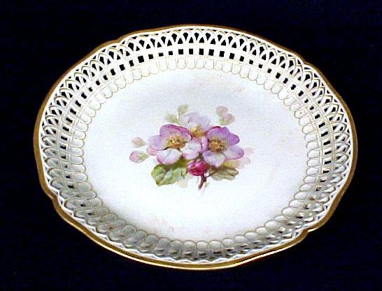 2019: KPM Porcelain Compote Bowl Antique