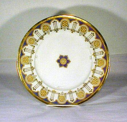 2022: Antique KPM Porcelain Enamel Cabinet Plate