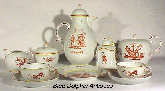 2024: Antique Porcelain Nymphenburg Tea Service