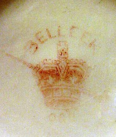 2087: Antique American Belleek Pitcher Ott & Brewer - 6