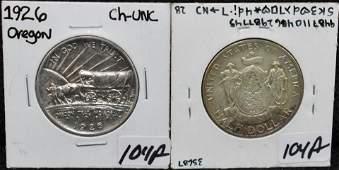1920 CHBU MAINE  1926 CHUNC OREGON