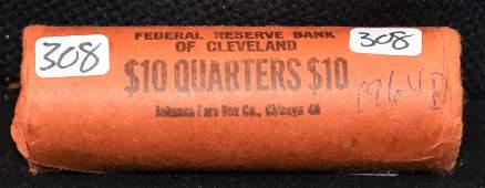 40 BU 1964D WASHINGTON QUARTERS