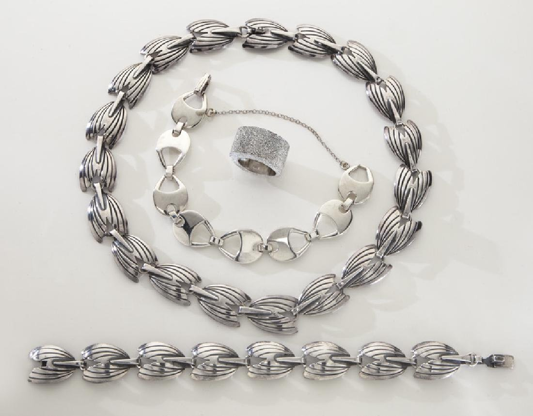 4 Pcs. sterling silver jewelry, including: